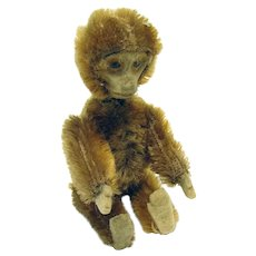 Schuco Mohair Monkey Perfume Bottle