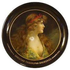 Christian Feigenspan Breweries Tip Tray