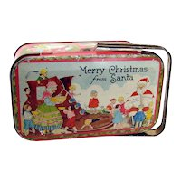 Christmas Candy Tin - 1920's
