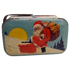 Twas The Night Before Christmas Candy Tin