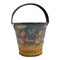 Disneyland Candy Container - 1940's