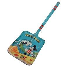 Early Walt Disney Enterprises Mickey Mouse Tin Shovel