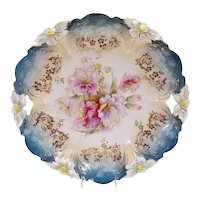 R.S. Prussia Porcelain Platter with Open Handles