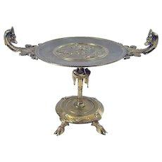 Ornate Brass Card Holder - 1870's
