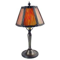 Signed Miller Boudoir Lamp - 1920's