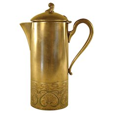 Webster Silver Plated Tankard - 1900's