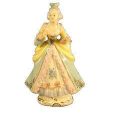 Small French Hand-Painted Porcelain Figure