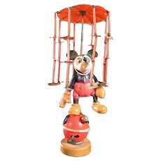 Mickey Mouse Wind-up Toy Whirligig - Disney