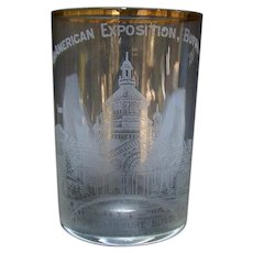 Pan American Exposition Drinking Glass - Buffalo NY - 1901
