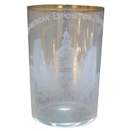 Pan American Exposition Drinking Glass - Buffalo NY - 1901