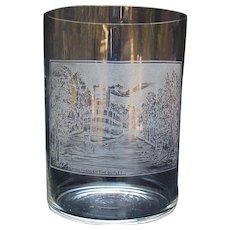 Historical Drinking Glass - Jamestown, New York