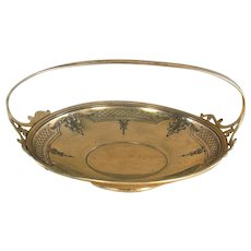 Large Gorham Sterling Bowl with Handle