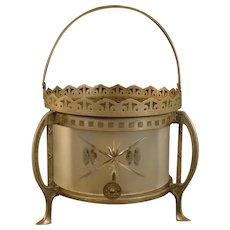 Tudric Style Tea Warmer - Turn of The Century