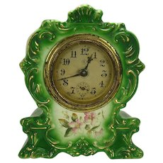 Royal Bonn Porcelain Cased Clock