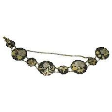 Japanese Mixed Metals Bracelet - 1910