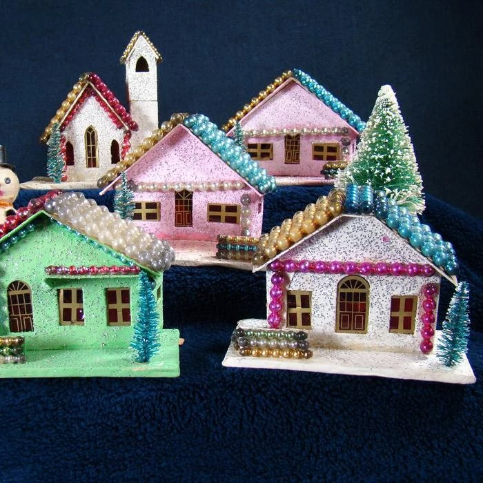 Christmas Tree Store Erie Pa: Japanese Sugar House Christmas Or Winter Village : Down
