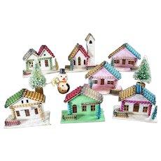 Japanese Sugar House Christmas or Winter Village