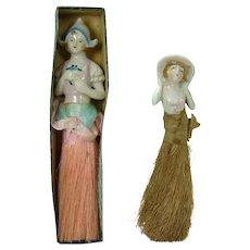 Porcelain Japanese Whisk Brooms (Pair) - 1930's
