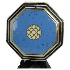 Richard Hudnut Art Deco Cloisonne Compact