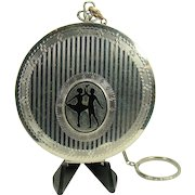 Art Deco Ladies Compact Carry-all with Dancers in Silhouette