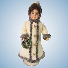 "AM 1894 Christmas or Winter Girl, 19"" tall"