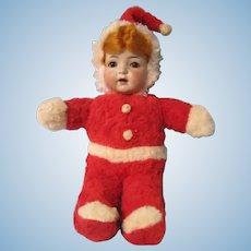 Santa Baby plush Santa doll with SH 121 head