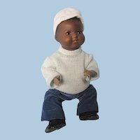 """AM 351 African-American baby, 15"""""""