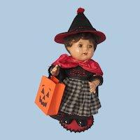 "Alexander Dionne toddler Quint, 12"" as a Halloween Witch"