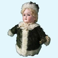"""AM 390 Mohair """"Roly-Poly"""" 10"""" tall"""