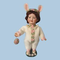 """Kley and Hahn Bunny Girl, character toddler, 554, 11 1/2"""""""
