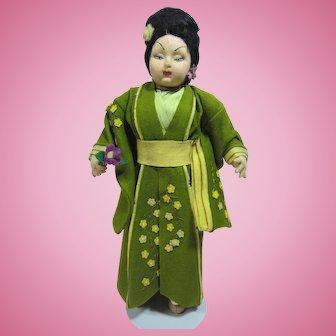 Lenci type Oriental Lady