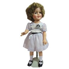 """Shirley Temple, 1957, All original with Pin, 18"""""""
