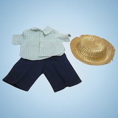 """Tagged outfit for 16"""" Terri Lee, play clothes and hat"""