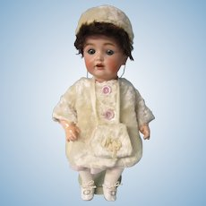 """Kestner 260 toddler in winter outfit 13""""tall"""