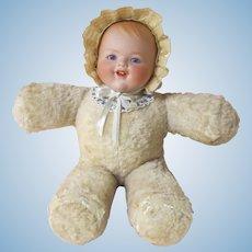 Armand Marseilles Kiddie joy large plush baby