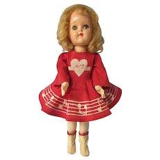 "Mary Hartline, Ideal doll, P 91, 16"". All original"