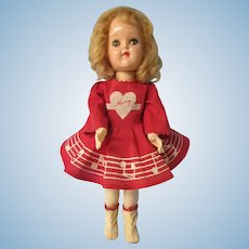 "Mary Hartline, Ideal doll, P 91, 16"". All original"