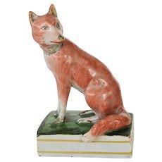 C1810 Antique Staffordshire Fox