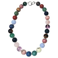 037ab0ac6 Paloma Picasso Tiffany & Co. 15MM Stone Necklace