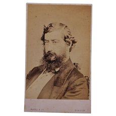 Victorian CDV Photo ~ Prince Albert Edward/Future King Edward VII