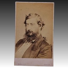 Victorian CDV Photo ~ Prince Albert Edward/Future King Edward VII