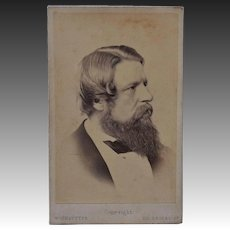 Victorian CDV Photo ~ Sir Stafford Northcote 1st Earl of Iddesleigh