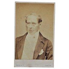 Victorian CDV Photo ~ Colonel Sir John Roper Parkington