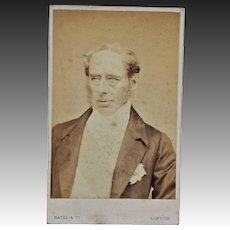 Victorian CDV Photo ~ Colonel Sir John Roper Parkington