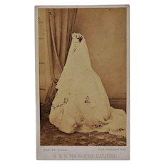 Victorian CDV Photo ~ H.R.H. The Princess Alexandra C1863