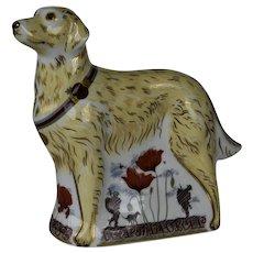 Royal Crown Derby WW1 War Dog ~ A Commemorative Limited Edition (116/500)