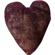 Antique Heart Pin Cushion-great!