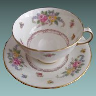 Delphine: Charmian: Footed Cup and Saucer