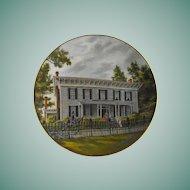 Gorham Collector Plate: Southern Landmark Series