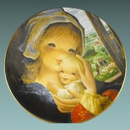 Schmid: Collector Plate: Mother and Child